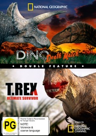 National Geographic: Double Feature - Dino Death Match And T.Rex Ultimate Survivor on DVD