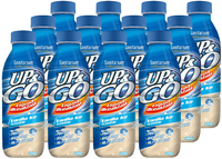 Up & Go Bottle - Vanilla Ice 12 Pack (500ml)