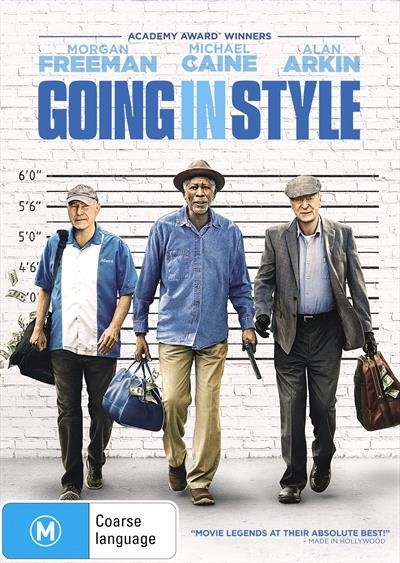 Going In Style on DVD image
