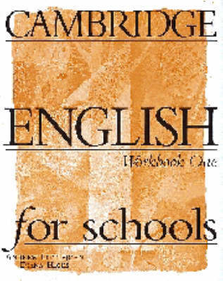 Cambridge English for Schools 1 Workbook by Andrew Littlejohn image