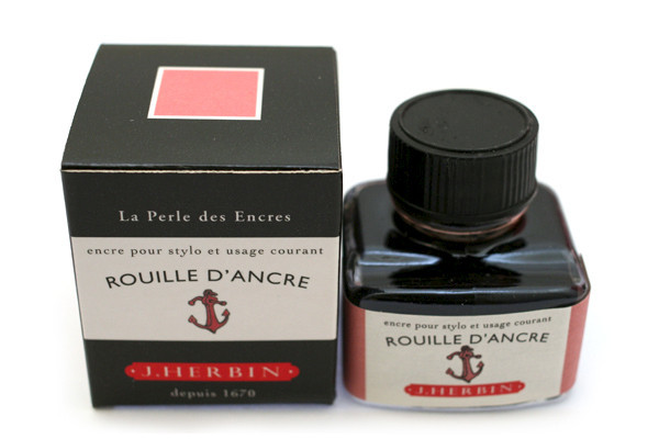 J Herbin: Fountain Pen Ink - Rouille d'Ancre (30ml)