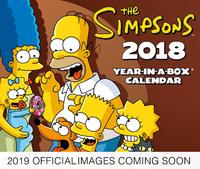 Danilo: The Simpsons 2019 Boxed Desk Calendar