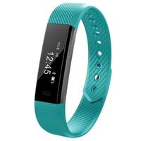 Smart Fitness Tracker Bands w/ Heart Rate Monitor - Green