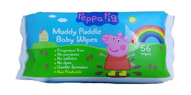 Peppa Pig Baby Wipes (56 Wipes)