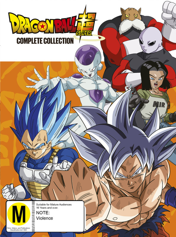 Dragon Ball Super - Complete Collection on DVD