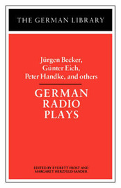 German Radio Plays by Jurgen Becker
