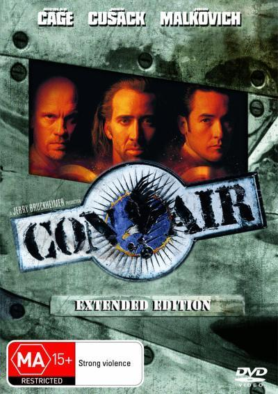 Con Air - Extended Edition on DVD