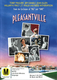 Pleasantville on DVD image