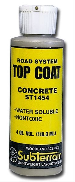Woodland Scenics Top Coat Concrete image