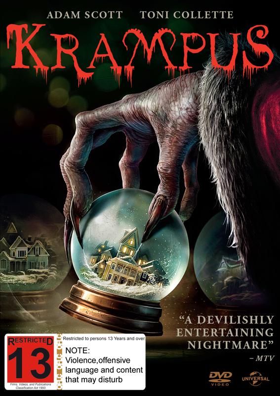 Krampus on DVD
