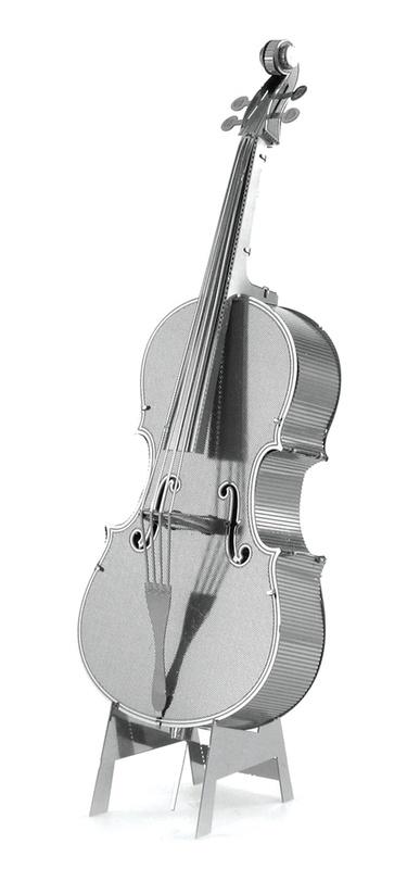 Metal Earth: Bass Fiddle - Model Kit