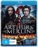 Arthur and Merlin on Blu-ray