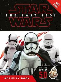 Star Wars The Last Jedi Activity Book with Stickers by Lucasfilm Ltd image