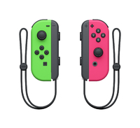 Nintendo Switch Joy-Con Neon Green/ Neon Pink Controller Set for Nintendo Switch image