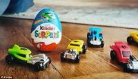 Kinder Surprise [Hot Wheels Edition] - 3 Pack (60g)