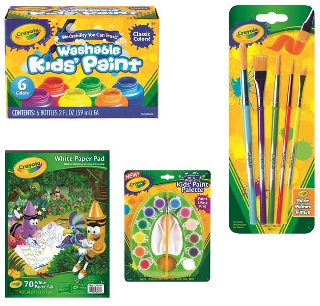 Crayola: Junior Artist Paint Value Pack