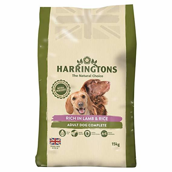 Harringtons: Dog Food Lamb & Rice 15kg