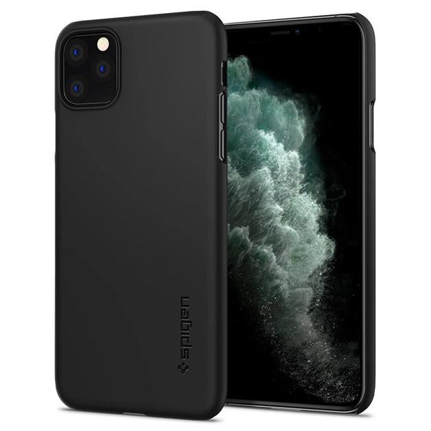 Spigen: iPhone 11 Pro Max Thin Fit Case - Black