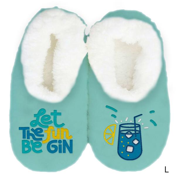 Sploshies: Women's Duo Slippers - Gin (Large)
