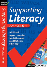 Supporting Literacy For Ages 10-11 by Andrew Brodie image