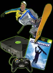 Xbox Console + Amped for Xbox