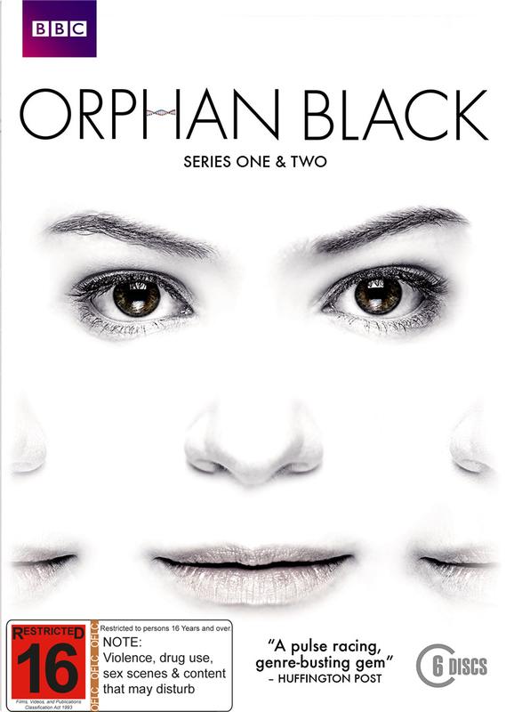 Orphan Black - Season 1 & 2 Box Set on DVD