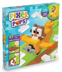 The Orb Factory: Pixel Pops - Aviator Owl Jumbo Playset