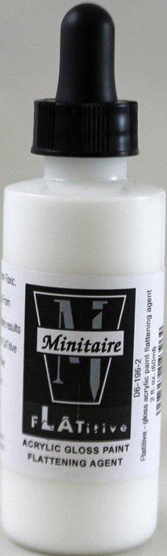 Badger: Flatitive Gloss Acrylic Paint Flattening Agent - (60ml)