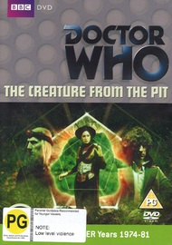 Doctor Who: The Creature from the Pit on DVD