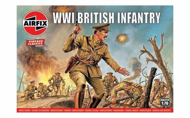 Airfix WWI British Infantry 1:76 - Model Kit