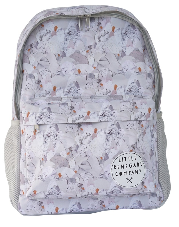 Little Renegade Company: Midi Backpack - Snowday