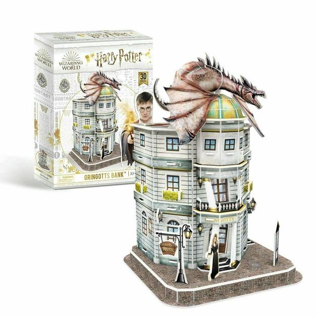Cubic Fun: 3D Harry Potter Puzzle - Gringotts Bank
