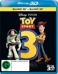 Toy Story 3 on Blu-ray, 3D Blu-ray