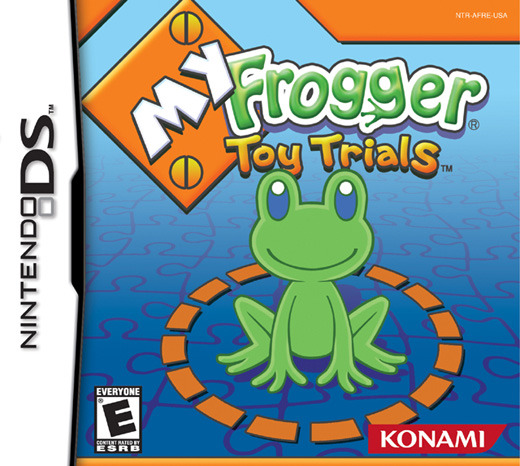 My Frogger Toy Trials for Nintendo DS