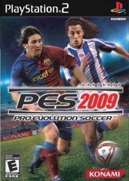Pro Evolution Soccer 2009 for PS2