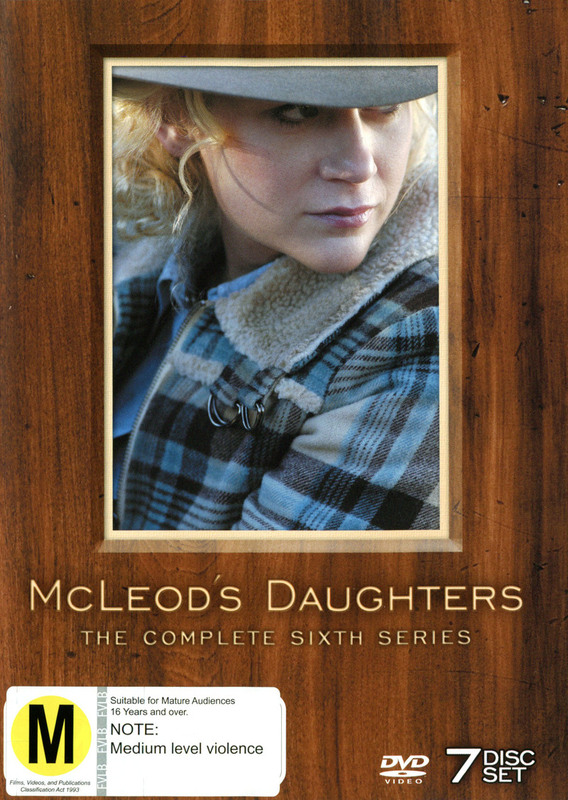 McLeod's Daughters - Complete Series 6 (7 Disc Box Set) on DVD