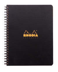 Notebook Wireb A5+ 4 Hole L+M with Ruler