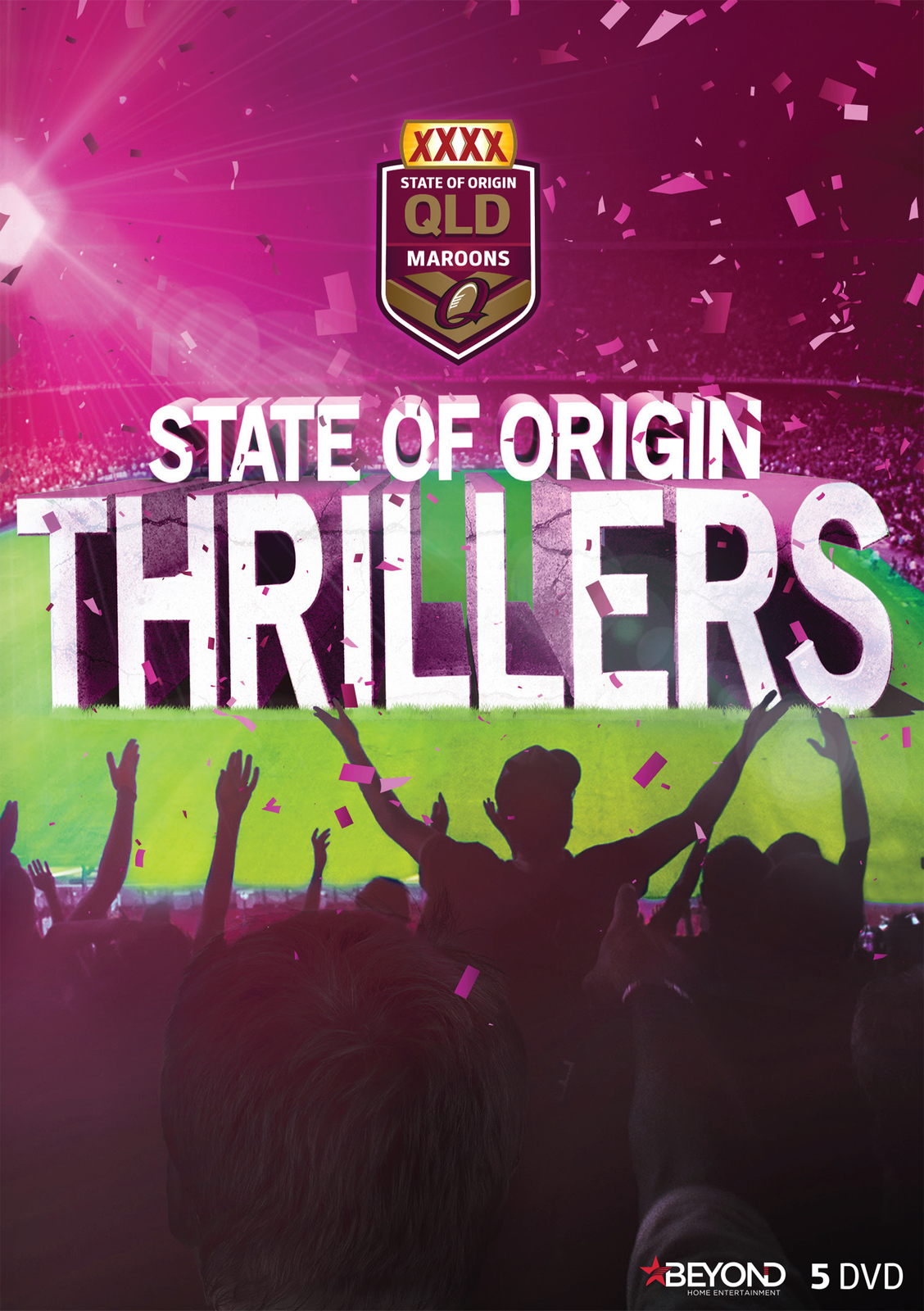 State of Origin: Thrillers - Queensland on DVD image