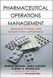 Pharmaceutical Operations Management by Pankaj Mohan image