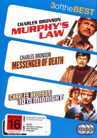 Murphy's Law (1986) / Messenger Of Death / 10 To Midnight (3 Disc Set) on DVD