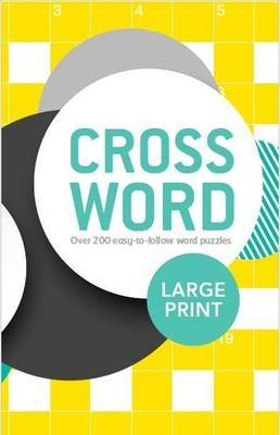Large Print Crossword by Parragon image