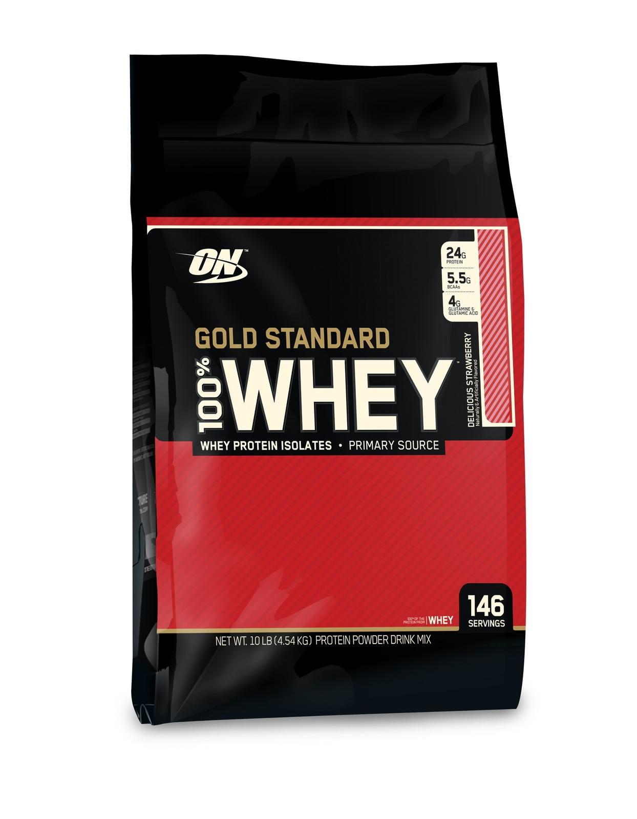 Optimum Nutrition Gold Standard 100% Whey - Strawberry (4.55kg) image