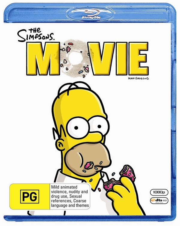 The Simpsons Movie on Blu-ray image