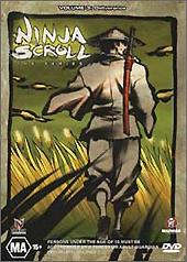 Ninja Scroll - The Series: Vol. 3 on DVD