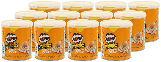 Pringles Grab & Go Small Cheddar Cheese 40g 12 pack