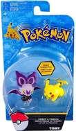 Pokémon: Action Pose Pikachu vs. Noibat - Figure 2-Pack