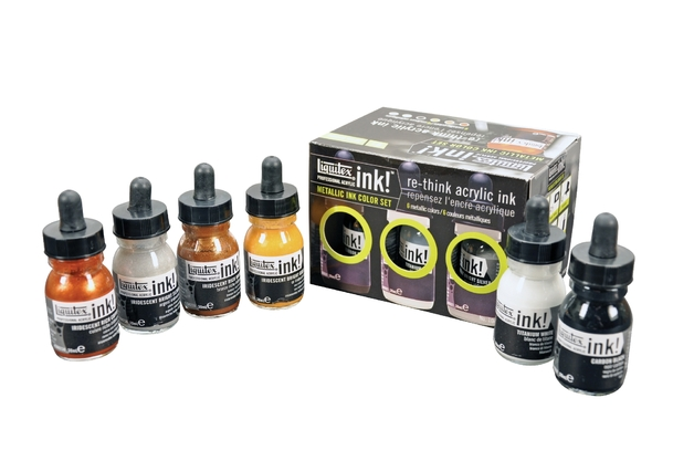 Liquitex Metallic Ink Set 6