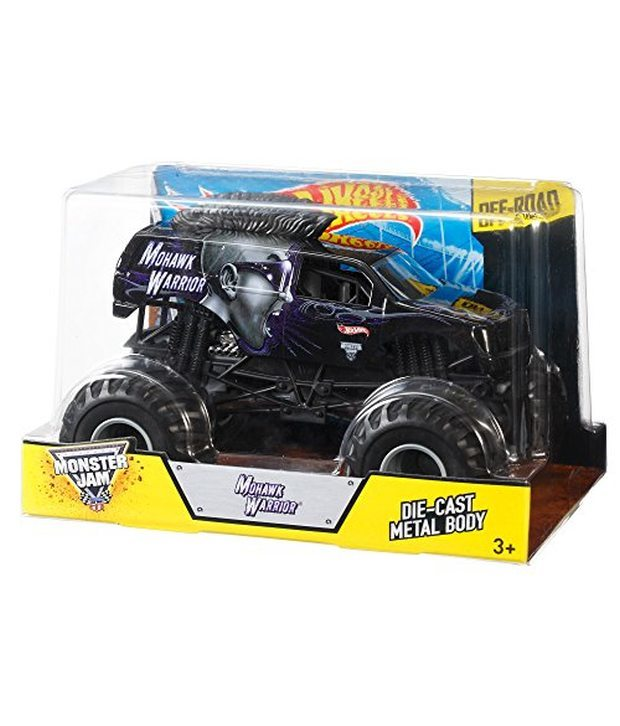 Hot Wheels Monster Jam: 1:24 Scale Diecast Vehicle - Mohawk Warrior