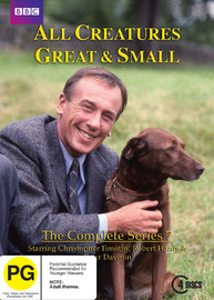 All Creatures Great & Small - The Complete Series 7 (4 Disc Set) on DVD
