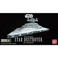 Star Wars VEHICLE MODEL 001 Star Destroyer - Scale Model Kit image